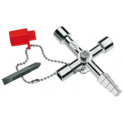 Ключ для електрошаф професійний KNIPEX 00 11 04