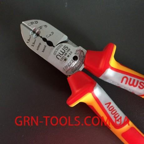 Бокорізи електрика + VDE 190 мм NWS 1351-49-VDE-190