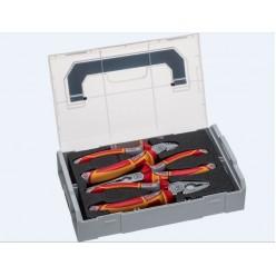 Ящик з інструментом Sortimo L-BOXX Mini VDE, 4 вир. NWS 338-1