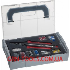 Набір для обжиму наконечників NWS 338-23 в кейсі Sortimo L-BOXX Mini