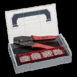 Кліщі ричажні для опресовки і набір кабельних зажимів Sortimo L-BOXX Mini NWS 338-21