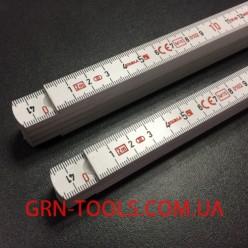 Метр складний пластиковий Stabila тип 1007 2м х 16мм 1001