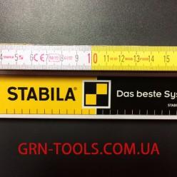 Метр дерев'яний складний Stabila тип 617 2м х 16мм 1128