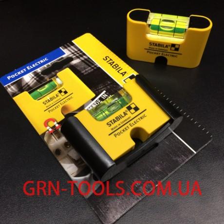 Рівень кишеньковий Pocket Electric  Stabila 17775  (чохол як опція)