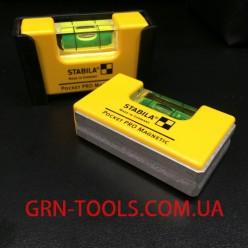 Рівень кишеньковий Stabila тип Pocket PRO Magnetic 17768