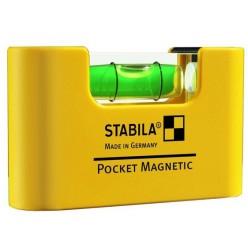 Рівень кишеньковий Stabila тип Pocket Magnetic 17774