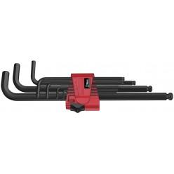 Набір Г-образних ключів, метричних, Wera 950 PKL/9 BM N, BlackLaser 05022086001